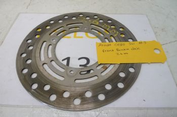 HONDA CR80 BIG WHEEL  FRONT BRAKE DISC   #3(CON-A)